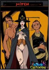Sexy witch cartoon story into Witch Sexy Cartoons