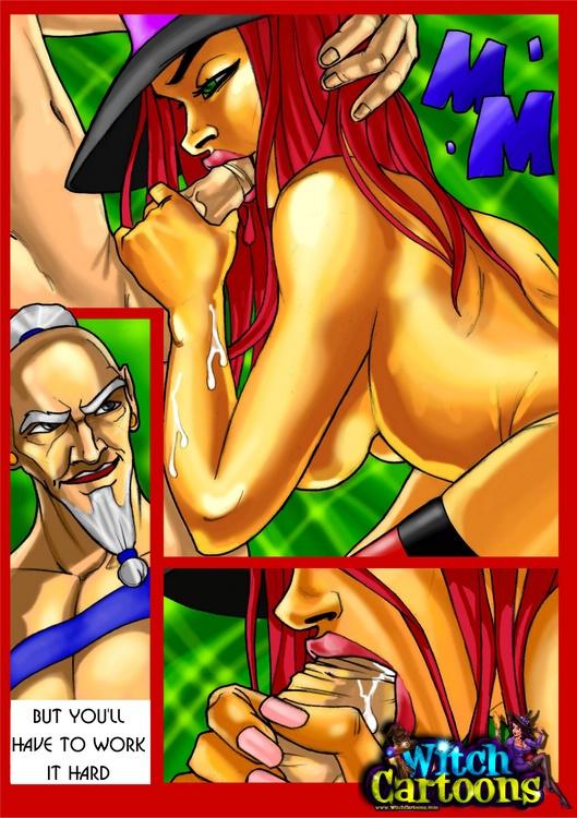 Witch girl porn cartoon into Witch Sexy Cartoons