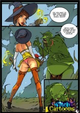 Ogre fucks Witch into Witch Sexy Cartoons