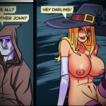 Witch loves big cock into Witch Sexy Cartoons