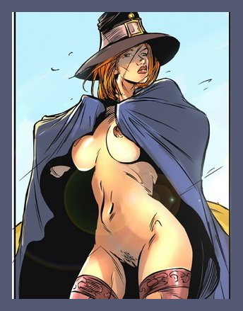 Busty Witch Scene